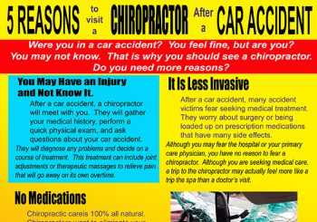 5 Reasons to Visit a Chiropractor After a Car Accident-600